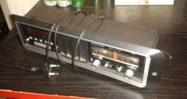 Retro Einbauradio 220 V mit