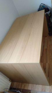 Ikea Schreibtisch buchefarben