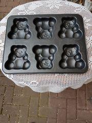 Teddybären -Backblech