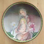 Muttertagsteller Blühende Mutterliebe