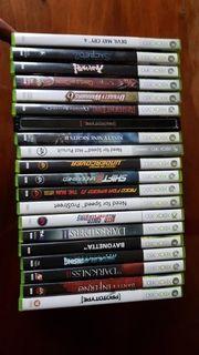 Verschiedene Xbox360 Spiele