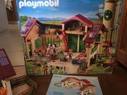 Playmobil Bauernhof mit Silo 5119