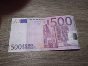 500er-Euro-Schein V91380379342 DD2002