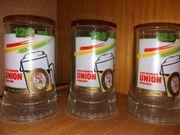 3 Biergläser Krug Dortmunder Union