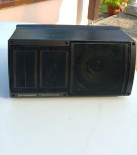 Boxen, Lautsprecher, Kopfhörer - Verkaufe 2 Oldtimer Pioneer Lutsprecherboxen