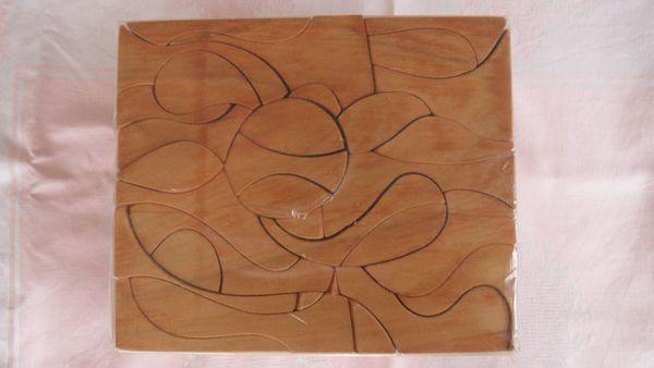 3D Holzpuzzle 142 unsymmetrische Teile
