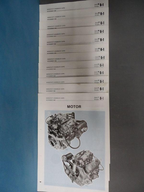 Oldtimer Youngtimer - Werkstatthandbuch Datenblatt 48