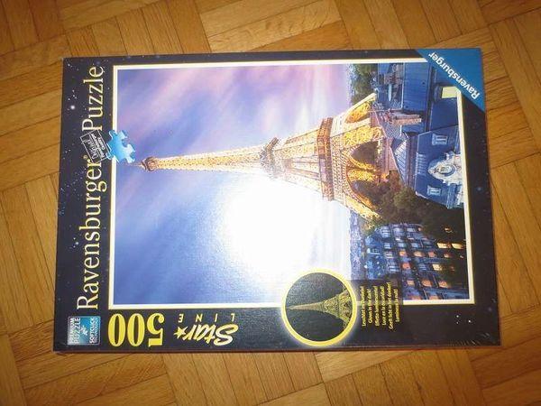 Ravensburger Puzzle Stra Line Eiffelturm