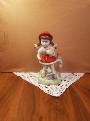 Rotkäppchen Figur porzellan