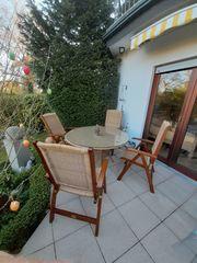 Hochwertige Gartensitzgruppe MBM Design-Möbel mit