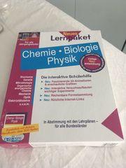 Lernpaket Chemie Physik Biologie auf