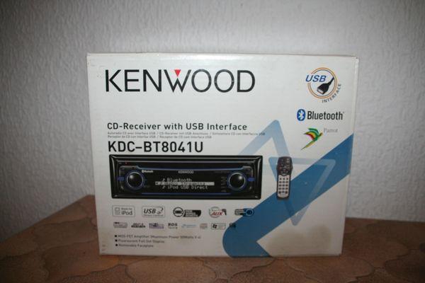 Autoradio Kenwood KDC-BT8041U