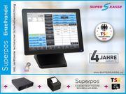 15 Touch Kassensystem Einzelhandel Superpos