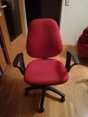 Schreibtisch 120x80 mit Stuhl