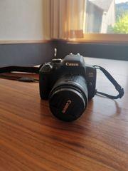 Canon EOS 750D inkl Zubehör
