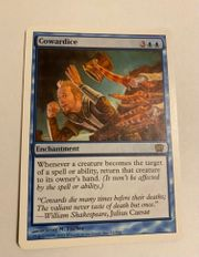 8th magic the gathering Cowardice