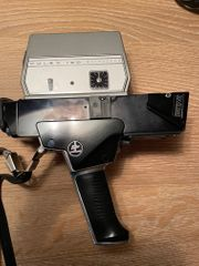Super 8 Kameras und Diaprojektor