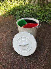 Abfalleimer - Mülleimer - Tonne mit Deckel