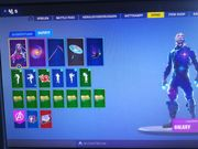 Fortni Account Galaxy skin selten