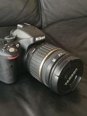Digitale Spiegelreflexkamera Nikon D 5100