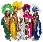 Brasil Samba Show Tänzer Tänzerinnen