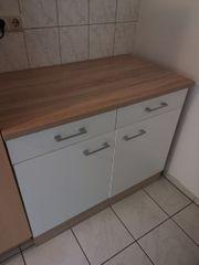 Küchenschrank Kommode in weiß mit