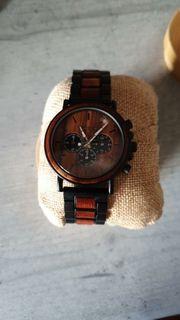 uhr von wood o clock