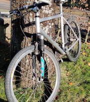 Mountainbike mit Alu Rahmen super