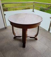 Holztisch Ausziehbar und höhenverstellbar