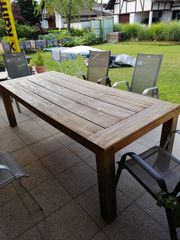 Gartentisch Akazie 240x100x77cm