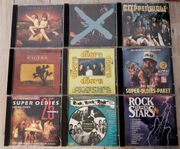 CD Sammlung Rock Oldies Van