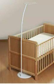 Himmelstange mit Standfuss für Kinderbett