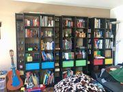 Bücherregale Billy Gnedby Ikea schwarzbraun