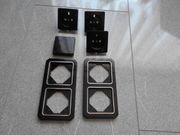 Steckdosen Schalter und Rahmen