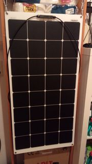 100 Watt Solarpanel flexibel