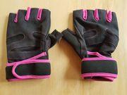 Fitness Handschuhe Sport Kraftsport schwarz