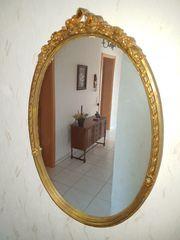 Chippendale Spiegel Oval zu verkaufen