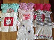 Baby T-Shirt Mädchen Paket Gr