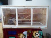 Hamster Käfig Kleintierkäfig aus Holz
