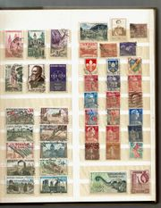 Briefmarkenalbum 16 Seiten D DDR