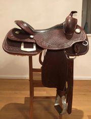 Wunderschöner Platinum TripleW Horsemanship-Westernsattel zu
