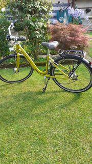 Damenfahrrad tiefer Einstieg- Komfort Citybike