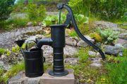 Brunnenbohrer Garten Brunne
