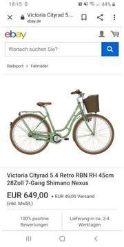 victoria fahrrad wie neu