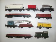 10 Märklin H0 Güterwagen