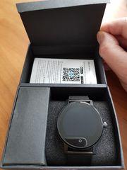 Smartwatch SMA-09 - Schwarz Metallarmband