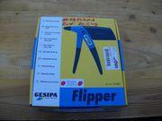 Handnietzange GESIPA Flipper Nagelneu mit