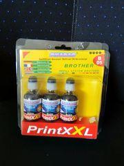 Nachfüllset Tinte für Brother Drucker