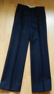 Bundfaltenhose hochwertig Gr 88 dunkelblau -