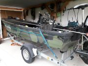 Motorboot Sportboot Angelboot Trailer